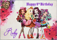 Ever After High Birthday Card A5 Personalised with own words