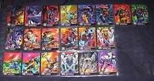1995 Fleer Ultra X-Men Chromium ALTERNATE X Insert Set of 20 Cards NM/M Marvel