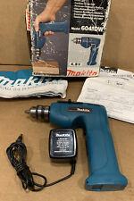 VINTAGE MINT MAKITA 6041DW 4.8 VOLT CORDLESS DRILL & CHARGER W/ BOX & MANUAL