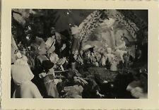 PHOTO ANCIENNE - VINTAGE SNAPSHOT - CURIOSITÉ CRÈCHE POUPÉE JOUET NOËL - CRIB 5