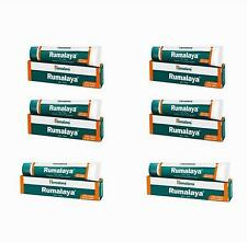 Rumalaya Gel 30g Himalaya Herbals Lot of 6 Tubes Thirty Gram Pack Free Ship