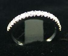 0.28 Carat Wedding Ring Band Guard 14k White Gold Anniversay Enhancer Engagement