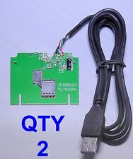 USB SMART CARD READER PRINTED CIRCUIT BOARD PCB GENERIC CAC - TWO