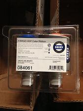 Geniune Fargo HDP5000 84061 Color UV Ribbon - YMCFK - 500 prints - New Sealed