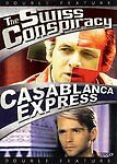The Swiss Conspiracy/ Casablanca Express (Dvd, 2006) Double Feature Classics Nr