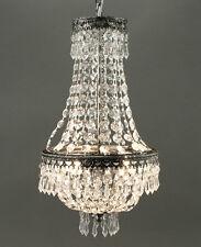 ARAÑA DE CRISTAL CRISTAL 50cm Altura 2 LLAMAS Lámpara de techo Araña de cristal