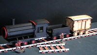 TTCombat - Wild West Scenics - WWS026 - Steam Train & Track, Great for Malifaux