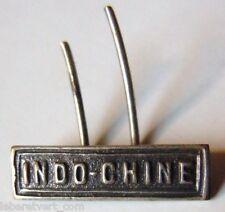 Barrette Agrafe Médaille Coloniale INDO-CHINE rare miniature 15mm 1900/1930