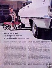1963 63 Chevy Chevrolet Impala ORIGINAL Vintage Ad CMY STORE TOO   5+= FREE SHIP