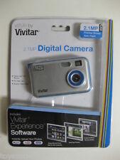 Vivitar VS28B 2.1 MP Digital Camera - Silver FACTORY SEALED