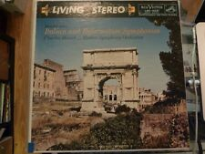 Mendelsohn Munch Italian And Reformation Symphonies LP RCA SHADED DOG LSC-2221