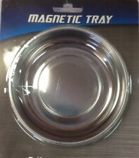 """5"""" Magnet Magnetic Tray Tool Parts Bolts Nuts Screws Holder Stainless Steel Bowl"""