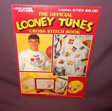 Looney Tunes Cross Stitch Pattern Booklet #2723 1995 Bugs Bunny Tweety Taz
