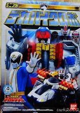 Bandai Japan Tokusou Sentai Dekaranger Mini Pla DEKABIKEROBO Megazord Candy Toy