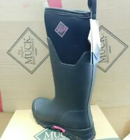 Muck Boots Arctic Ice Extreme Conditions Tall.New Vibram Icetrek sole.Pink/Black