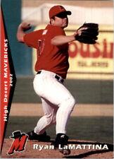2002 High Desert Mavericks Grandstand #15 Ryan LaMattina