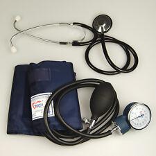 Aneroide para Adultos Nylon brazalete de presión arterial meter+stethoscope clínica Pack