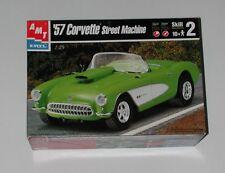 1957 Chevy Corvette Street Machine 1/25 Model Car Kit Amt/Ertl Niob
