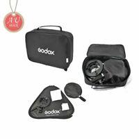 AU Godox 80x80cm Foldable Softbox + S-Type Flash Bracket Bowens Mount Kit