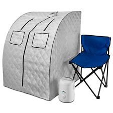 Durasage Oversized Portable Steam Sauna Spa for Weight Loss, Detox, Relaxation