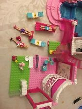 Barbie Mega Bloks Pool Party With 3 Figures, Dig and Much More