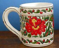 A handmade Studio Mug traditional decoration from Rhodes by Theofilos