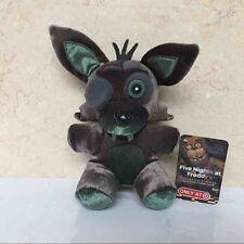 "FNAF Five Nights at Freddys GREEN PHANTOM FOXY 6"" Funko Plush Target Exclusive"