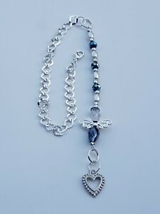 LUCKY GUARDIAN ANGEL CAR MIRROR CHARM WITH HANGING CHAIN charms