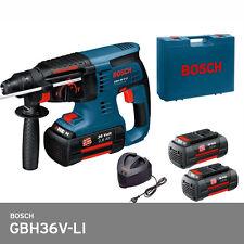 Bosch GBH 36V-LI Cordless SDS Hammer Drill Full Set 150Oz (2x4.0Ah) Professional