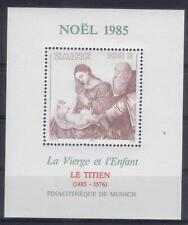 ZAIRE 1985 CHRISTMAS S/S MNH C7102