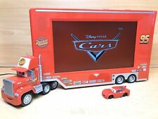 Disney Pixar Cars Rusteze HD LCD TV/DVD Player Red Freeview & Remote Control