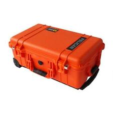 Orange Pelican 1510 case.  With Foam.