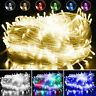 ✅10-500 LEDs Christmas Fairy String Lights Wedding Xmas Party Holiday Tree Lamps