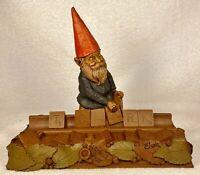 SCRABBLE-R 1991~Tom Clark Gnome~Cairn Studio Item #925~Edition #30~w/COA & Story