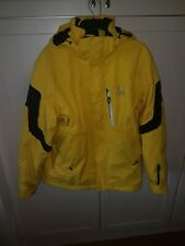 Spyder Rival Ski Coat 20/20 Yellow / Black