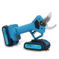 Cordless Electric Lithium Pruning Shears Rechargeable Secateur Branch Cutter 21V