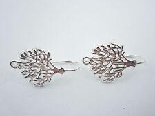 1 paio monachelle per orecchini albero della vita argento 925