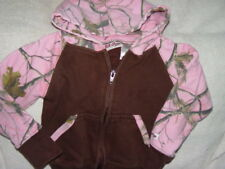 Lil Joey Brown Pink Como Jacket Size 2T