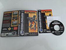 Sega Saturn - Mech Warriors 2  - PAL FR - Occaz
