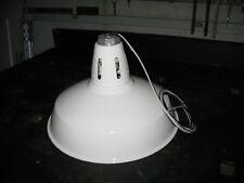 White Porcelain Barn Light