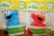 NEW Sesame Street Friends Elmo and Cookie Monster Figures Cake Topper New