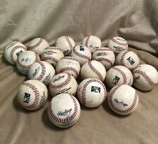 20 Used MLB Rawlings Official Minor League Baseballs USED