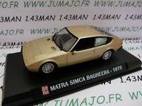AP15N Voiture 1/43 IXO AUTO PLUS : SIMCA Matra Bagheera 1975