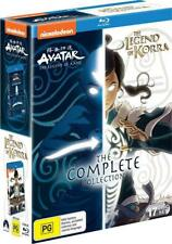 AVATAR THE LAST AIRBENDER + LEGEND OF KORRA Complete Collection Reg Free Blu-ray