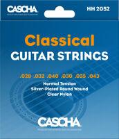 Cascha Konzertgitarren-Saiten, Normal Tension .028 .032 .040 .030 .035 .043