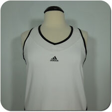 ADIDAS Women's Athletic Top, Inner Bra, Stretch, size L