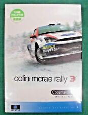 WINDOWS PC GAME - Colin McRae Rally 3 English ver. Japanese Manual - new *JAPAN*