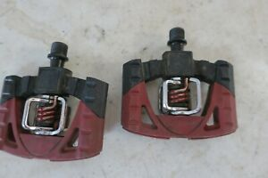 Crank Brothers Mountain Bike Mallet Pedals Red/Black
