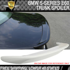 04-10 BMW E60 5 Series ABS Trunk Spoiler Painted #300 Alpine White III