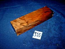 Nussbaum Maserholz Messergriffblock  Messergriff    150 x 40 x 30 mm     Nr: 955